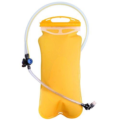 ACRATO Idratazione senza BPA 3L Dual Camera Acqua Zaino Acqua Borsa per corsa, trekking, campeggio, Outdoor Sports Reservior Confezione