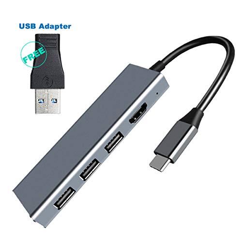 FAGORY Hub USB 7 En 1 USB C Hub 4K Adaptador Tipo