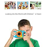 Children's Digital Camera, Bovake Amkov 1.77 Inch HD Color Screen 5MP Self-Portrait Mirror