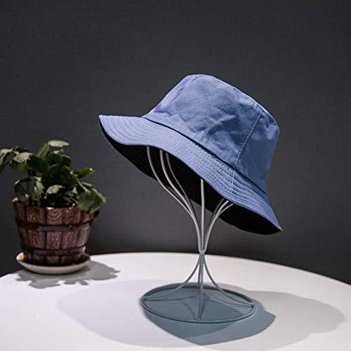 Weiche Eimer Hut (FearL Weichen Eimer Hut Männer Frauen Outdoor Sport Hip Hop Freizeit Frauen Sommer Sonnenblende Angeln Hut,Schwarz Blau)