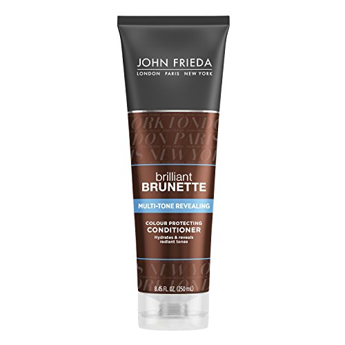 John Frieda Brilliant Brunette Multi-Tone Revealing Moisturizing Conditioner, 8.45 Ounce (Pack of 2) by KAO Brands [Beauty] (English Manual)