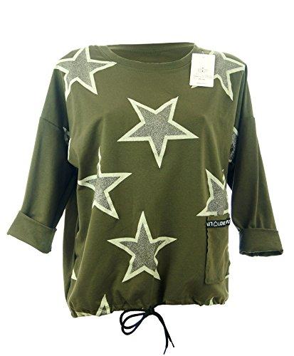 Profumo di Moda - Hoodie - Sweatshirt - Non Disponible Femme Vert