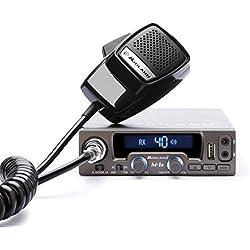 Midland M10 - Radio CB con AM/FM, conexión USB y automatic digital silenciador