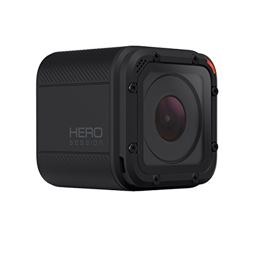 GoPro HERO Session - Videocámara deportiva de 8 MP (WiFi, submergible, 1030 mAh), color negro (versión española)