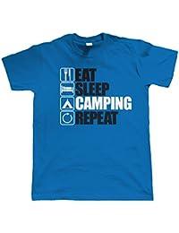 Vectorbomb, Keep Bees Camping Répéter, Hommes Drôles, Extérieurs T Shirt (Du S au 5XL)