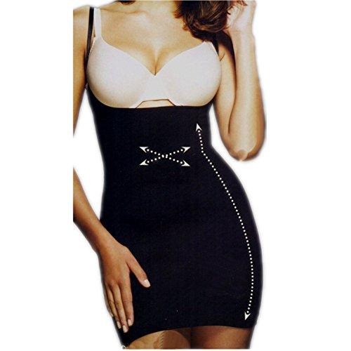Miederkleid schwarz Größe M Shapewear schlanke Figur unter Strickkleid Abendkleid (Damen-bekleidung Avon)