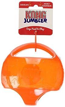 Kong Jumbler Jouet Balle 2-en-1 pour Chien Taille M/L - Coloris aléatoire
