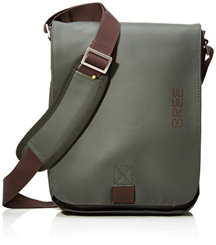 BREE Unisex-Erwachsene Punch 52, Climbing Ivy, Shoulder Bag W18 Schultertasche, Grün, 26x6.5x21 cm