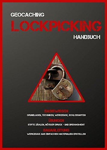 *Neue Ausgabe DEUTSCHE SPRACHE Lockpicking Anleitung Broschüre DIN A5 Geocaching starter Dietrich Anfänger Werkzeug Schlösser knacken Erklärung usw