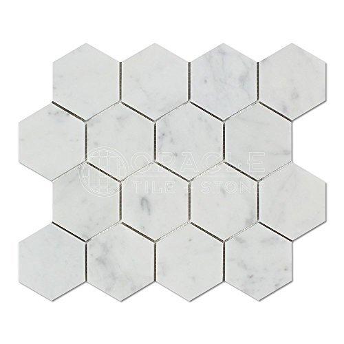 carrara-white-italian-carrera-marble-hexagon-mosaic-tile-3-inch-polished-by-stone-center-online
