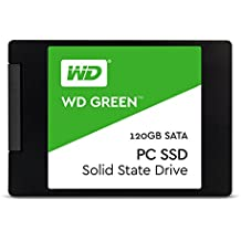 "WD Green PC SSD - Disco duro sólido de 120 GB (Serial ATA III, SLC, 2.5"", FCC, UL, TUV, KC, BSMI, VCCI)"