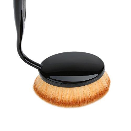 Abody 1St Foundation Brush Profi Kosmetik Pinsel Oval Gesichtspinsel Make Up Bürste (Klein, Mittler, Große) - 3