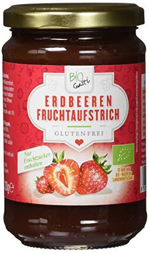 Biogustí Erdbeeren Fruchtaufstrich, 6er Pack (6 x 320 g)