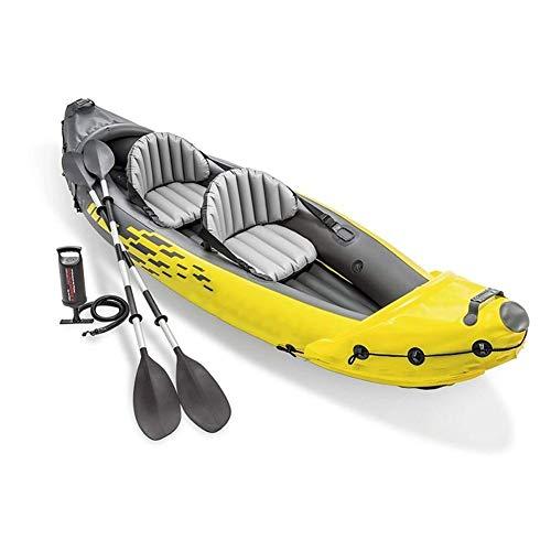 ZOUBIAG Juego De Kayak Inflable Paletas De Aluminio