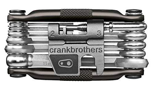 Crankbrothers Multi-17 Midnight Edition Multi Unisex Erwachsene, Rot