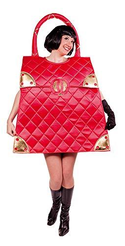 Designer Handtasche Kostüm Rot - it-Girl Tasche Hollywood Kostüm für Erwachsene - Mottoparty und Karneval