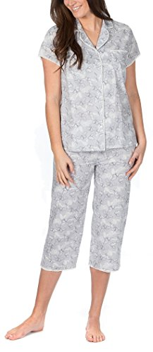 Cottonique Ladies Woven Pure Cotton Pyjama Set - 418c6ebgc2L - Cottonique Ladies Woven Pure Cotton Pyjama Set