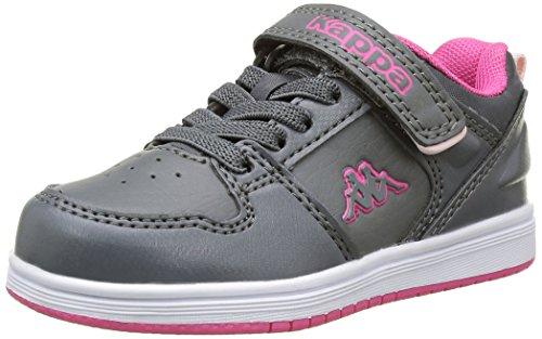 Kappa Baby Mädchen Jarvis Bb Lauflernschuhe Grau - Gris (930 Grey/Pink)
