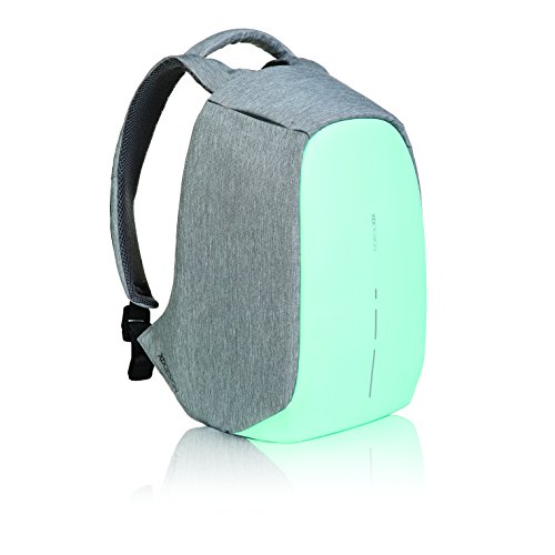 XDDesign Bobby Compact Zaino Anti Taccheggio Verde Portatile USB (Borsa Unisex)