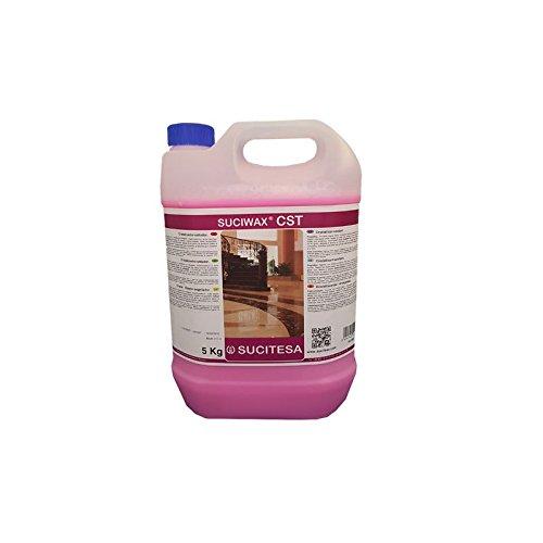 Líquido cristalizador/sellador para abrillantar suelos de terrazo o mármol. Especialmente indicado para...