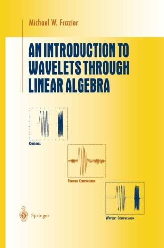 An Introduction to Wavelets Through Linear Algebra (Undergraduate Texts in Mathematics) by Michael W. Frazier (2013-03-23)