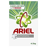 Ariel Automatic Laundry Powder Detergent Original Scent 4.5 kg, Pack of 1
