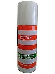 Energy Woman United Colors Of Benetton Spray Deodorant, 150ml