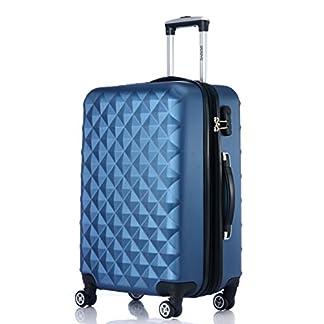 Ruedas gemelas 2066rígida Maleta Equipaje de viaje Maleta viaje para M de l de XL de Juego en 12colores, azul, extra-large