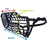 Basket Cage Dog Muzzle Size 7 -XX LARGE -...