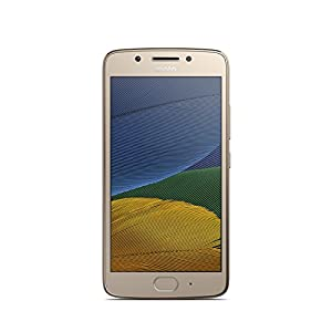 Motorola Moto G5 16GB with 3 GB RAM (Dual Sim) UK SIM-Free Smartphone - Fine Gold