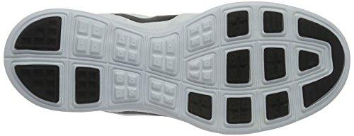 Nike Lunar Tempo 2, Chaussures de Running Compétition Homme, Bleu, Taille Blanc / noir / argenté (blanc / noir - platine pur)