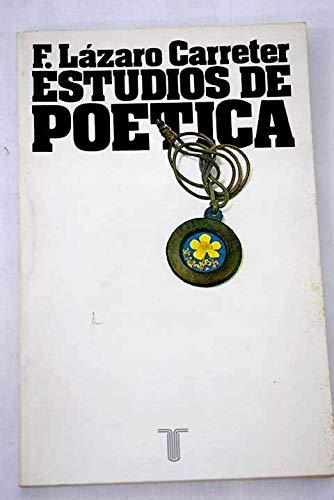 ESTUDIOS DE POÉTICA (LA OBRA EN SÍ)