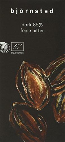 Bio Feine Bitter Chocolade mit 85 % Cacao , 5er Pack (5 x 100 g) -