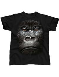 Big Face Animal Gorilla, Men's T-Shirt