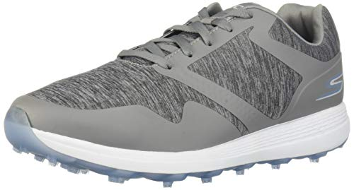 Skechers Golf 2019 Go Golf Max - Scarpe da Donna Senza Punta, Grigio (Gray/Blue Heathered), 42.5 M US