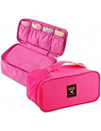 Travel Women Organizer Bra Underwear Pouch Cosmetic Bag Portable Luggage Storage Case 1 Get 1 FREE !!!
