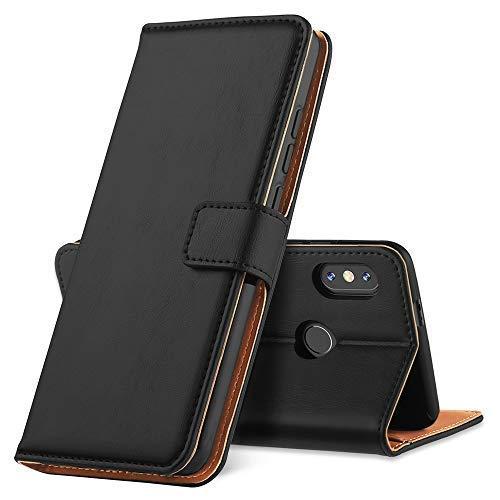 GeeRic Für Xiaomi Redmi Note 5 Hülle, [Standfunktion] [Kartenfach] [Magnet] [Anti-Rutsch] PU-Leder Schutzhülle Brieftasche Handyhülle für Xiaomi Redmi Note 5