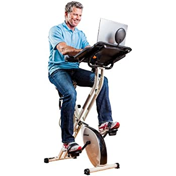 fitdesk v20 desk exercise bike with massage bar