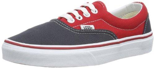 Vans - U Era (2 Tone) Ebony/, Sneaker basse Unisex – Adulto Multicolore (Mehrfarbig ((2 Tone) ebony/))