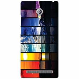 Asus Zenfone 6 A601CG Back Cover - Colored Paints Designer Cases