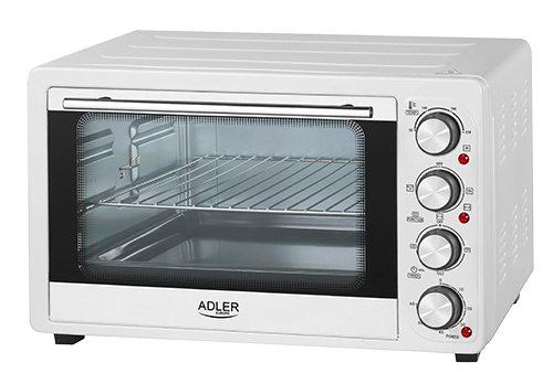 Adler AD-6001 Horno de sobremesa con convección 34 litros 200 W, 0...
