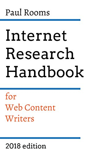 Internet Research Handbook for web content writers.