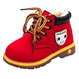 VICGREY ❤ Stivali Per Bambini E Ragazzi Scarpe Invernali Impermeabile Stivali Martin Bambino Ragazza Scarpe Da Moda Stivaletti Caldo Sport Scarpe Stivali Da Neve Sneakers
