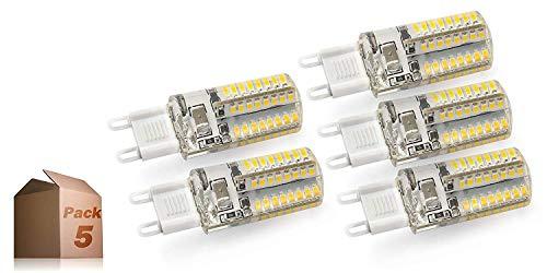 LED-Lampe G9 5 W Smd2835 72 LED 450 lm (Pack 5) Lampe 220 V ONSSI LED PACK 5 neutral