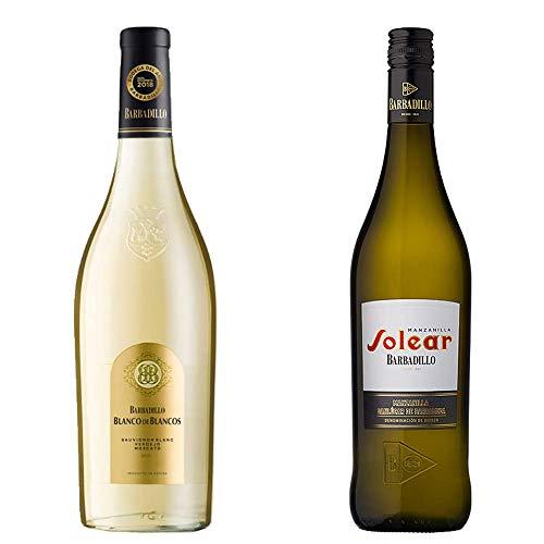 Blanco De Los Blancos Y Manzanilla Solear - Vino De La Tierra De Cádiz Y D. O. Manzanilla De Sanlúcar De Barrameda - 2 Botellas De 750 Ml
