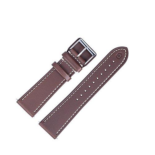Victorinox Uhrenarmband 23mm Leder Braun - Uhrband Set 004698