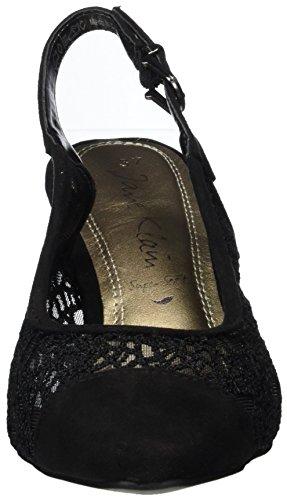 Jane Klain 296 144, Scarpe Col Tacco Donna nero (nero)
