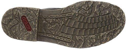 Rieker 74224, Bottes Classiques femme Gris (basalt/anthrazit / 46)