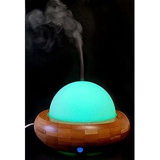 Diffusor DIFFUSER/Aroma-Diffuser/Luftbefeuchter Ultraschall/Diffuser für Ätherische Öle Luna