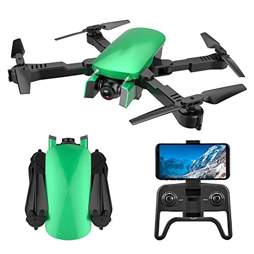REDWALL Drohne Mit Kamera 4K HD-Übertragung WiFi FPV RC Quadrocopter Handy-Steuerung Optische Flusspositionierung Flugbahn Headless-Modus 3D-Flip EIN-Knopf-Start/Landung RC-Drohnen-Anfänger,Green 1100 Handy